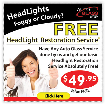 FREE - Basic Headlight Restoration Service Coupon